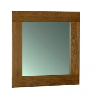 Rustic Oak Wall Mirror 900x900