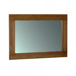 Rustic Oak Wall Mirror 1300x900